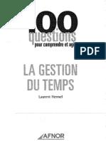 117377446 La Gestion Du Temps