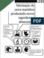 Valorização de Recursos Marinhos - Cartaz