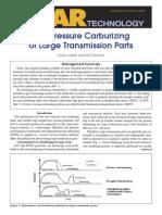 Low Pressure Carburizing of Large Trans Parts