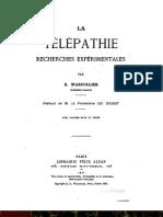 A telepatia - La Télépathie