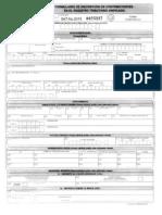 Afca27 Formulario de Inscripcion de Contribuyentes