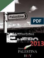 Editoriales Palestina Hoy Enero 2013