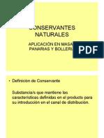 CONSERVANTE NATURALES