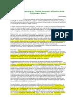 O Direitos Internacional dos Direitos Humanos e a Redefinição da Cidadania no Brasil
