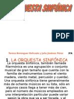 La Orquesta Sinfonica