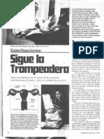 Escobar - Esterilizaciones, Sigue La Trompeadera (Caretas, Mayo 6-99)