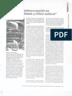 Guezmes - En Perú la anticoncepción es un tema de debate político cultural (Revista Mujer y Salud 02-99)
