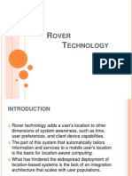 six arm moon Rover Technology