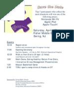 04-18-09 Autism Walkathon Registration