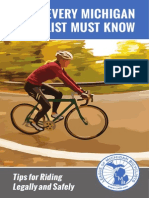 What Every Michigan Bicyclist Must Know
