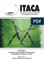 Revista Itaca , nr 1, ( ianuarie, februarie, martie)  2013