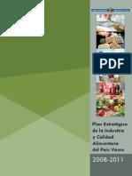 Plan Estrategico de La Industria y Calidad Alimentaria