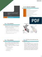 Tema 1 (Reglamento de Ordenameinto Territorial y Desarrollo Urbano) 2011