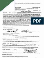 Brandon Davis Arrest Warrant