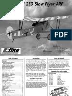 Fokker DVII 250 Manual