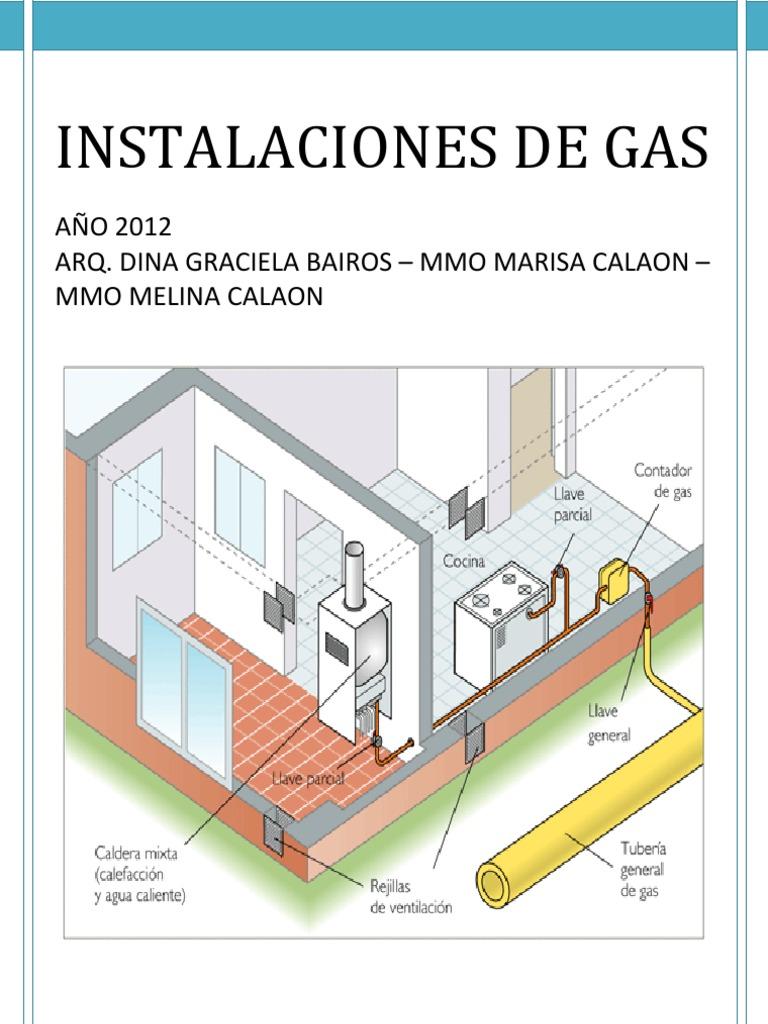 3 instalacion de gas 1 for Gas natural en casa