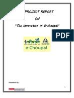 E-choupal project report