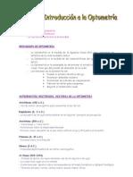 Tema 1_ Apuntes _ Introduccion a La Optometria