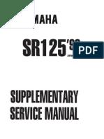 Service Manual 1999 (1) for Yamaha SR125