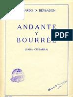 Bensadon Andante y Bourree