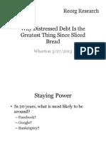 Distressed Debt Presentation