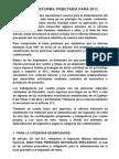 NUEVA REFORMA 2013 Retención en la fuente para trabajadores independientes