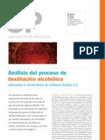 Analisis Del Proceso de Destilacion Alcoholica