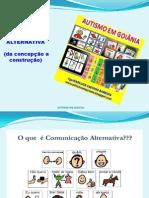 COMUNICAÇÃO ALTERNATIVA PALESTRA
