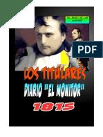 NAPOLEÓN Y LOS TITULARES DEL MONITOR 1815