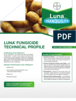 Luna Potato Fungicide - 2012 Product Guide