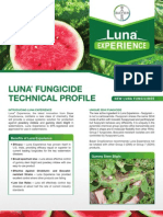 Luna Watermelon Fungicide - 2012 Product Guide