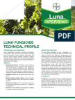 Luna Wine Grape Fungicide - 2012 Product Guide