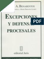 Excepciones y DP Omar Benabentos