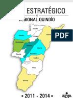 Plan Estrategico Regional Quindío 2011-2014 con Vision 2020