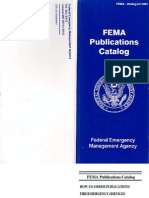 0 FEMA Publications Catalog
