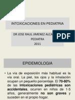Intoxicaciones en Pediatria Clase Upao Set 2011