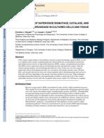 Measurement of Superoxide Dismutase