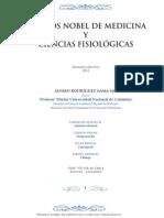 Premios Nobel de Medicina y Ciencias Fisiológicas -Dr. Álvaro Rodríguez Gama-
