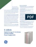 gea-d2003 - lp-11u series 5-10kva ups