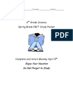 spring break review packet 2012