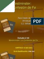 CFW Capitulo13 DelaSantificacion (Capitulo14 Williamson)