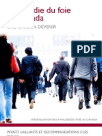 Canada liver disease - Rapport sur le Canada et les Maladies du foie, une crise en devenir