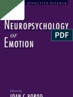 The Neuropsychology of Emotion