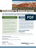 MAXIMIZE YOUR STUDENT'S EDUCATION - Take Concurrent Enrollment