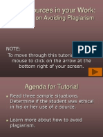 plagiarism tutorial