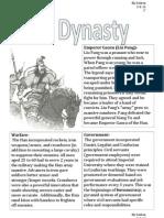 master han dynasty input