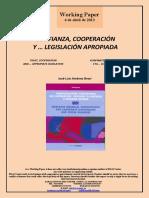 CONFIANZA, COOPERACION Y LEGISLACION APROPIADA (Es) TRUST, COOPERATION AND ... APPROPIATE LEGISLATION (Es) KONFIANTZA, LANKIDETZA ETA ... LEGERI EGOKIA (Es)