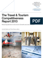 World Economic Forum Travel and Tourism World Competitiveness Report 2013