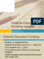 Federal Education Update 2013 by the AASA via PresenceLearning