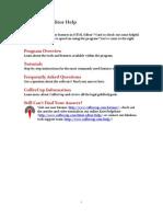 CoffeeCup HTML Editor Manual